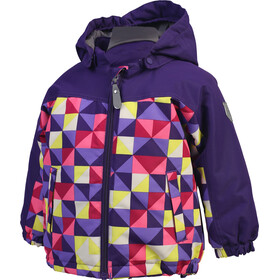 Color Kids Kurt Mini Padded Jacke Kinder violet indigo